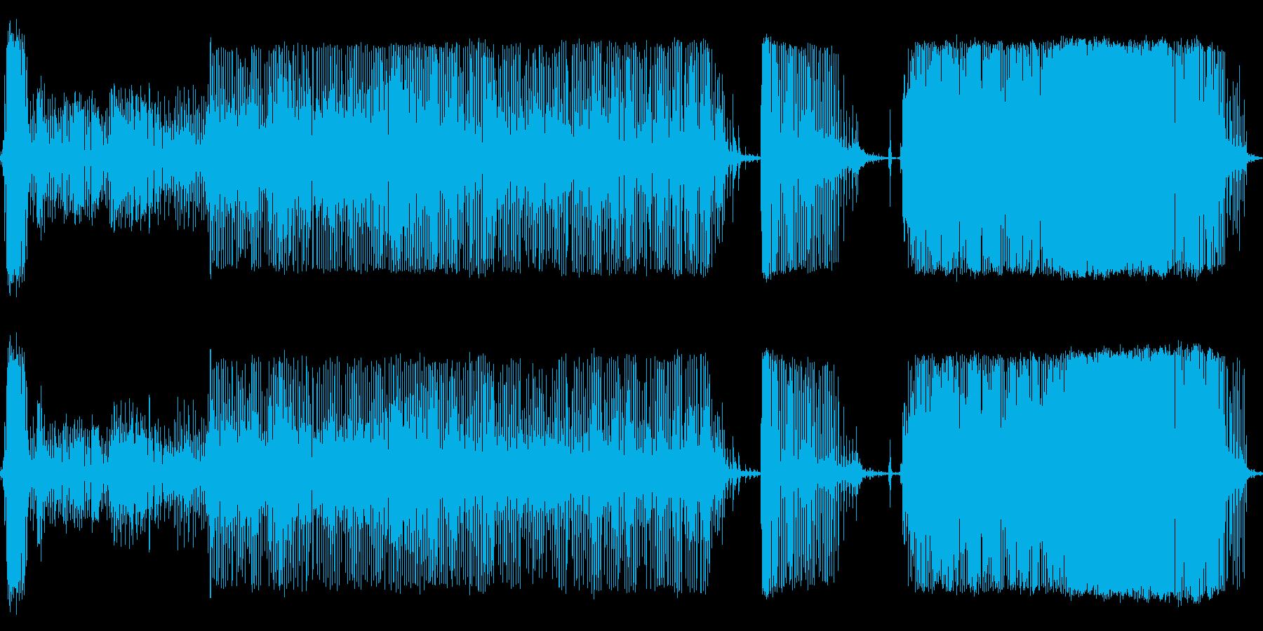 コインペイントミキサーの再生済みの波形
