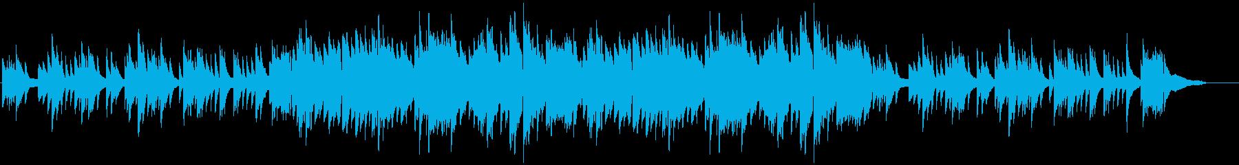 ピアノソロ・日本の春をイメージの再生済みの波形