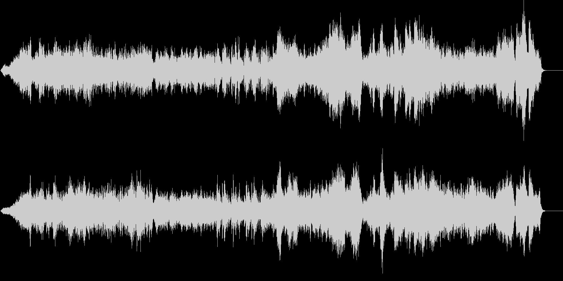ショパンワルツOp.42のカバー曲の未再生の波形