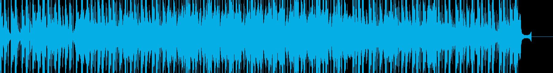 爽やかかつ力強いEDMの再生済みの波形