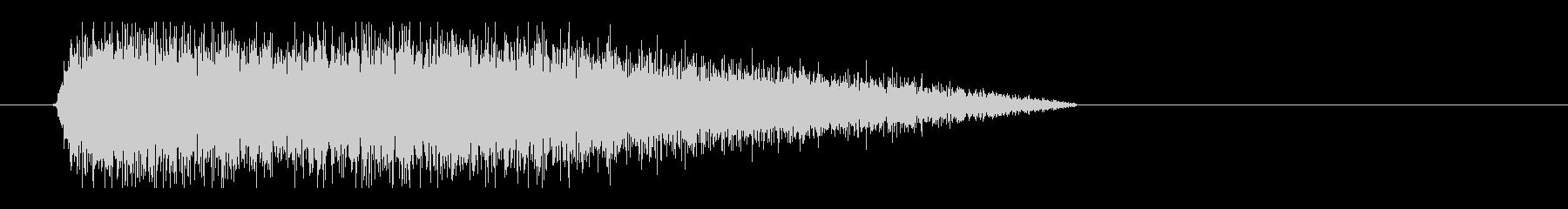 レーザー音-30-3の未再生の波形