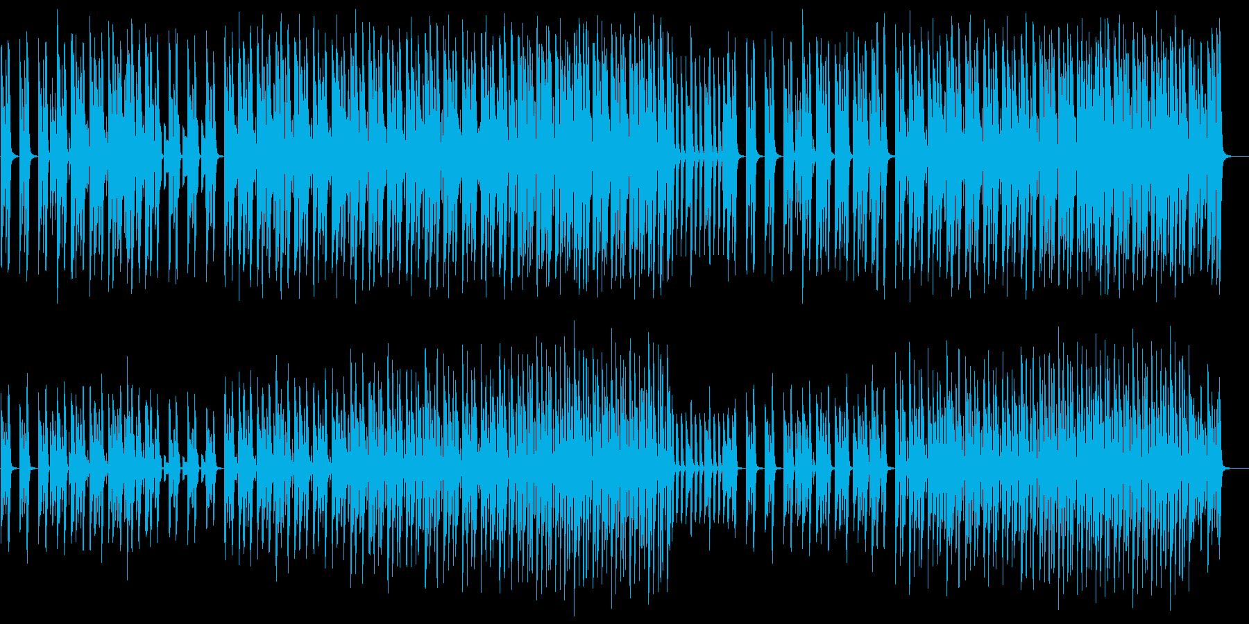 【パーカス抜き】流行のクリーン&モダンの再生済みの波形