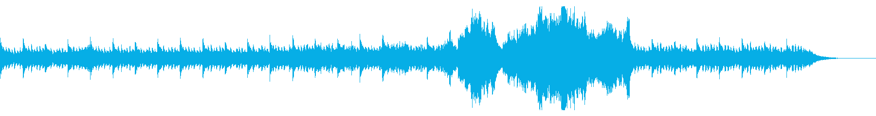 ピアノ ポストクラシカル 美しい映像の再生済みの波形