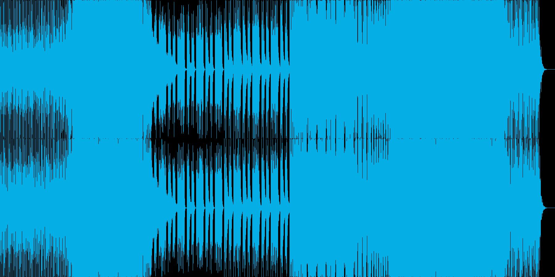 カワイイ爽やかポップなPOP EDMの再生済みの波形