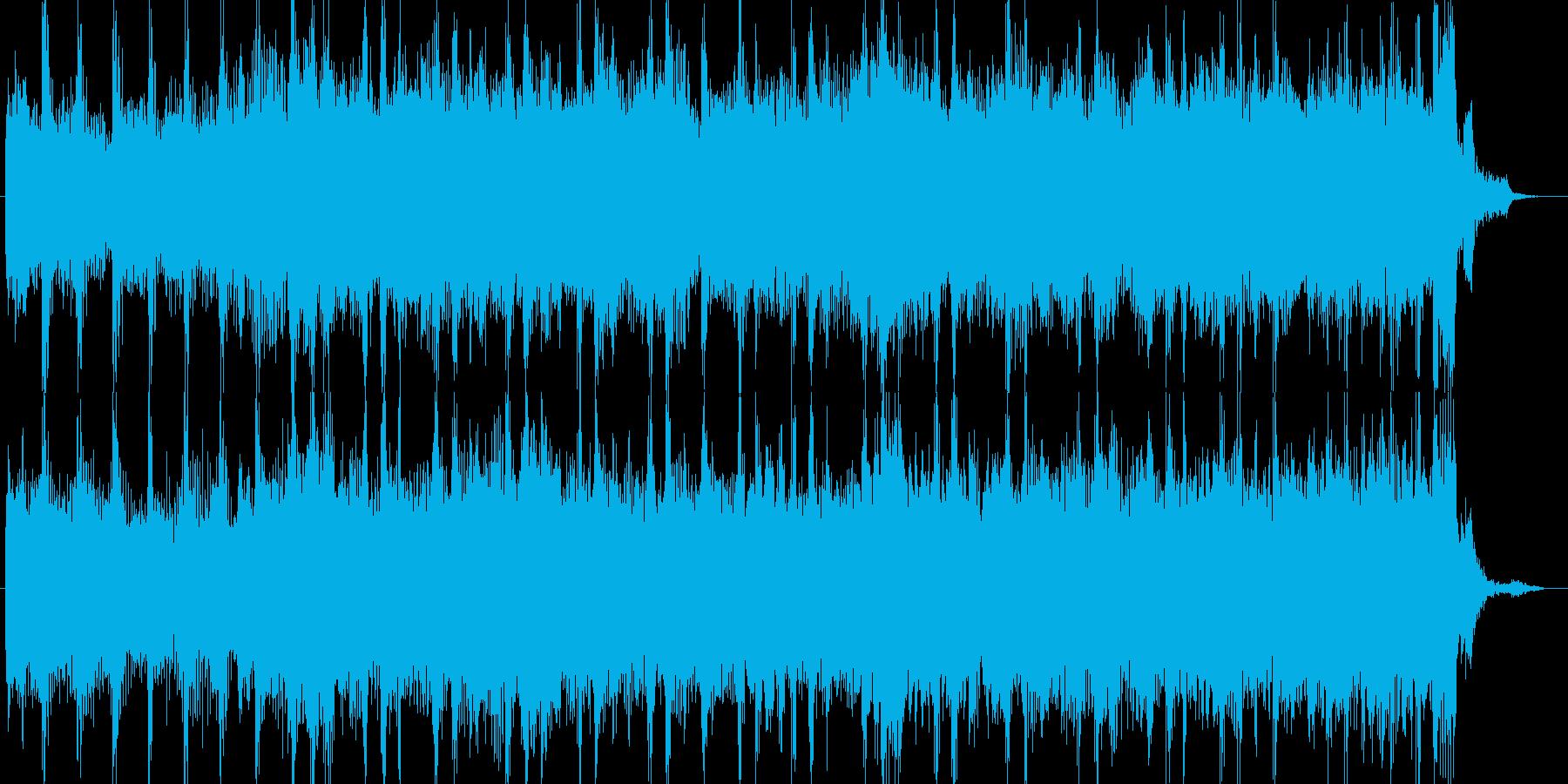 ロックCMオーケストラエレキ企業PVの再生済みの波形