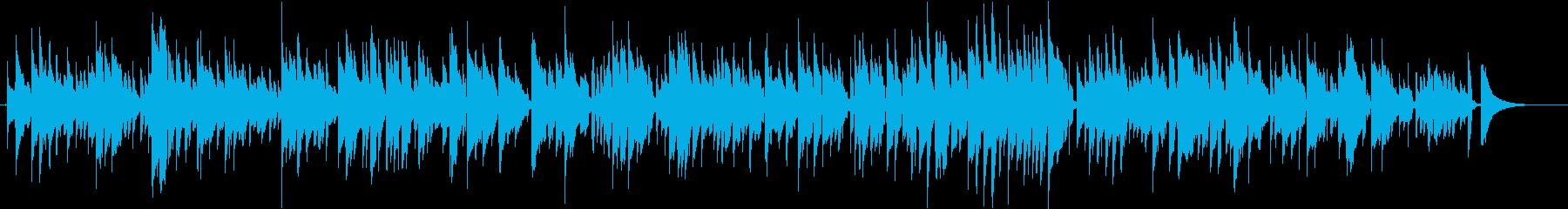 ショパン 別れの曲 ボサノバアレンジの再生済みの波形