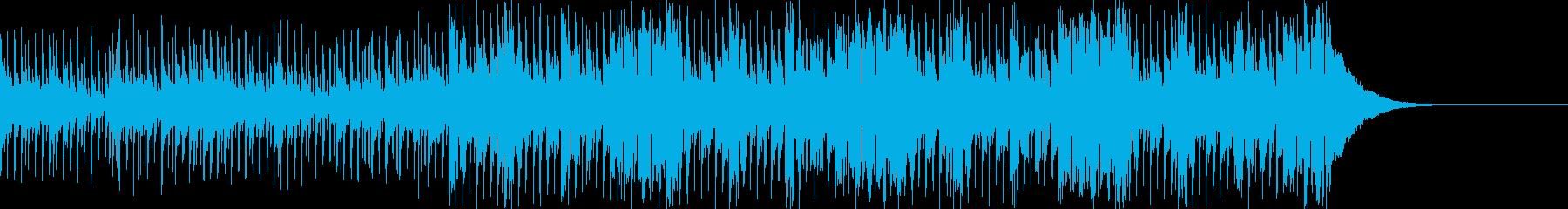 Pf「新鋭」和風現代ジャズの再生済みの波形