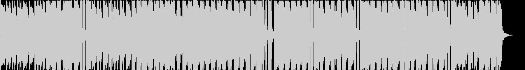 エレピとアコギのオシャレなLofiPopの未再生の波形