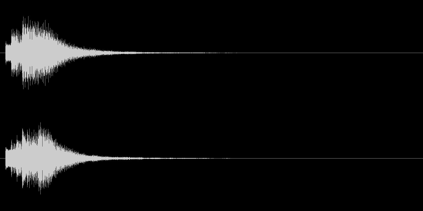 キラリン②(アイデア・完成・回転・変身)の未再生の波形