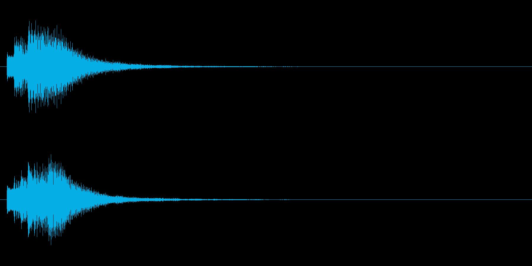キラリン②(アイデア・完成・回転・変身)の再生済みの波形