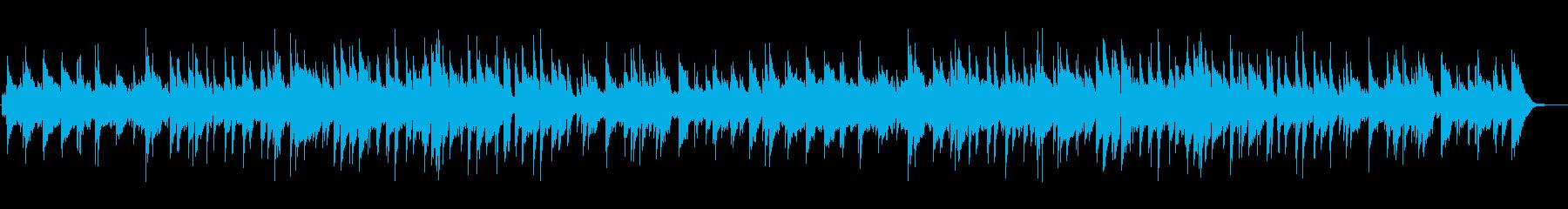 やさしいゆったり オルゴール調の再生済みの波形
