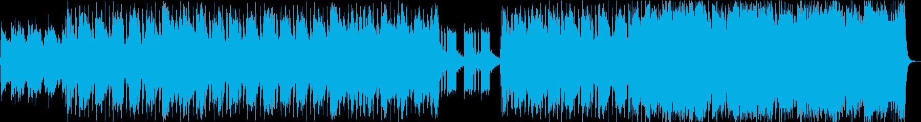 エレキギターが特徴的な青々としたサウンドの再生済みの波形