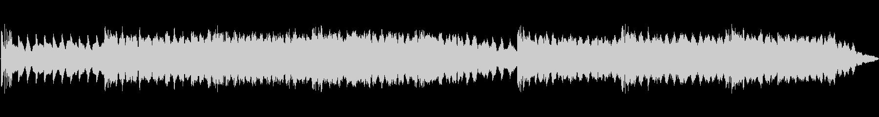 マリンバがポリリズム的に鳴りますの未再生の波形
