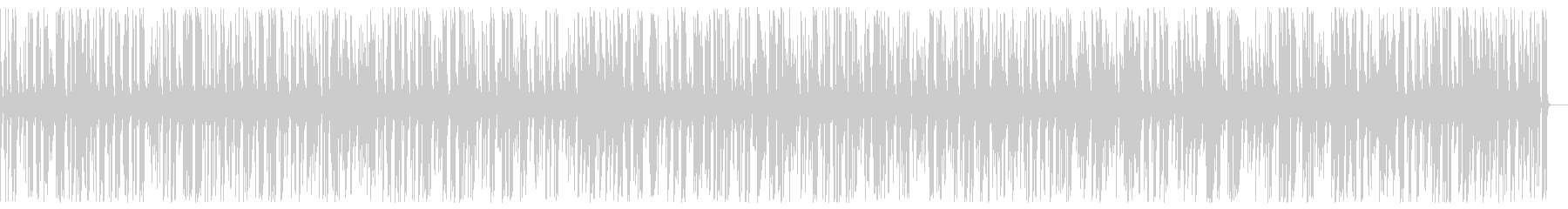 Exciting fashionable food Jazz piano BGM's unreproduced waveform