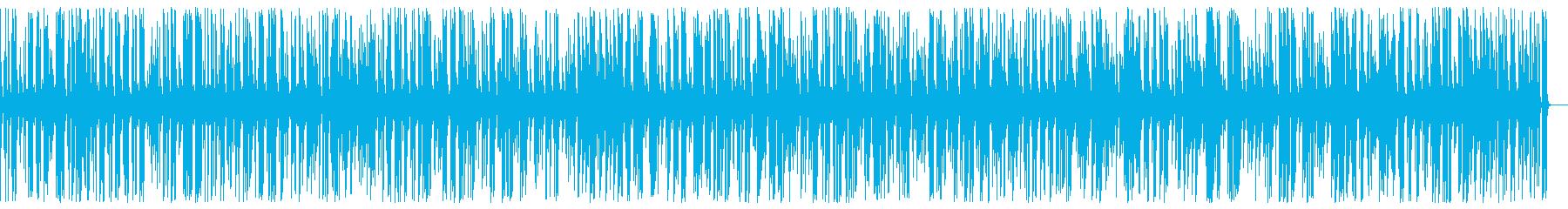 Exciting fashionable food Jazz piano BGM's reproduced waveform