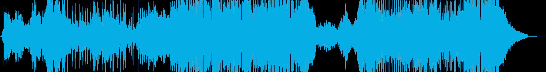 魔法・乙女チックなテクノポップ 短尺Aの再生済みの波形