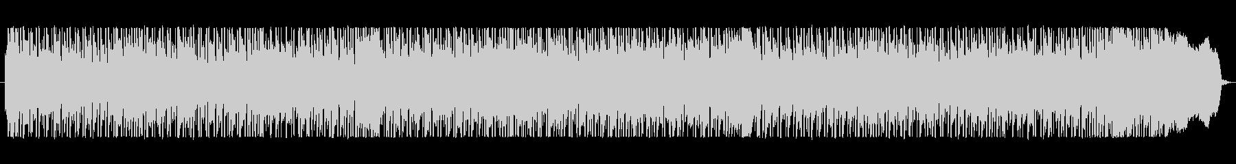 レッチリ風ファンクロックバンドサウンドの未再生の波形
