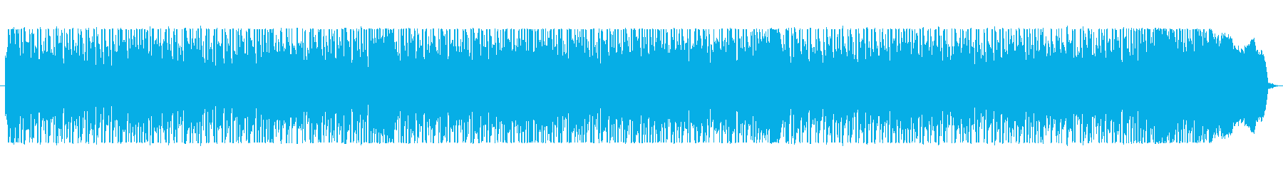 レッチリ風ファンクロックバンドサウンドの再生済みの波形