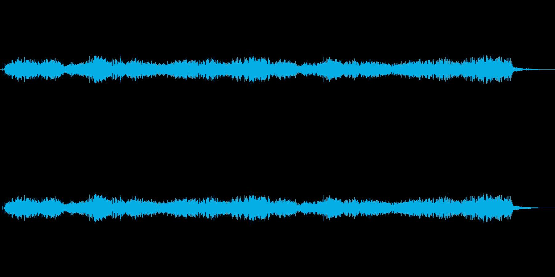 電流の音です。の再生済みの波形
