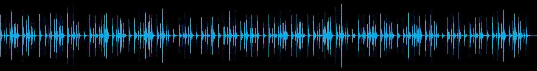 マレット楽器の素朴なイージーリスニングの再生済みの波形