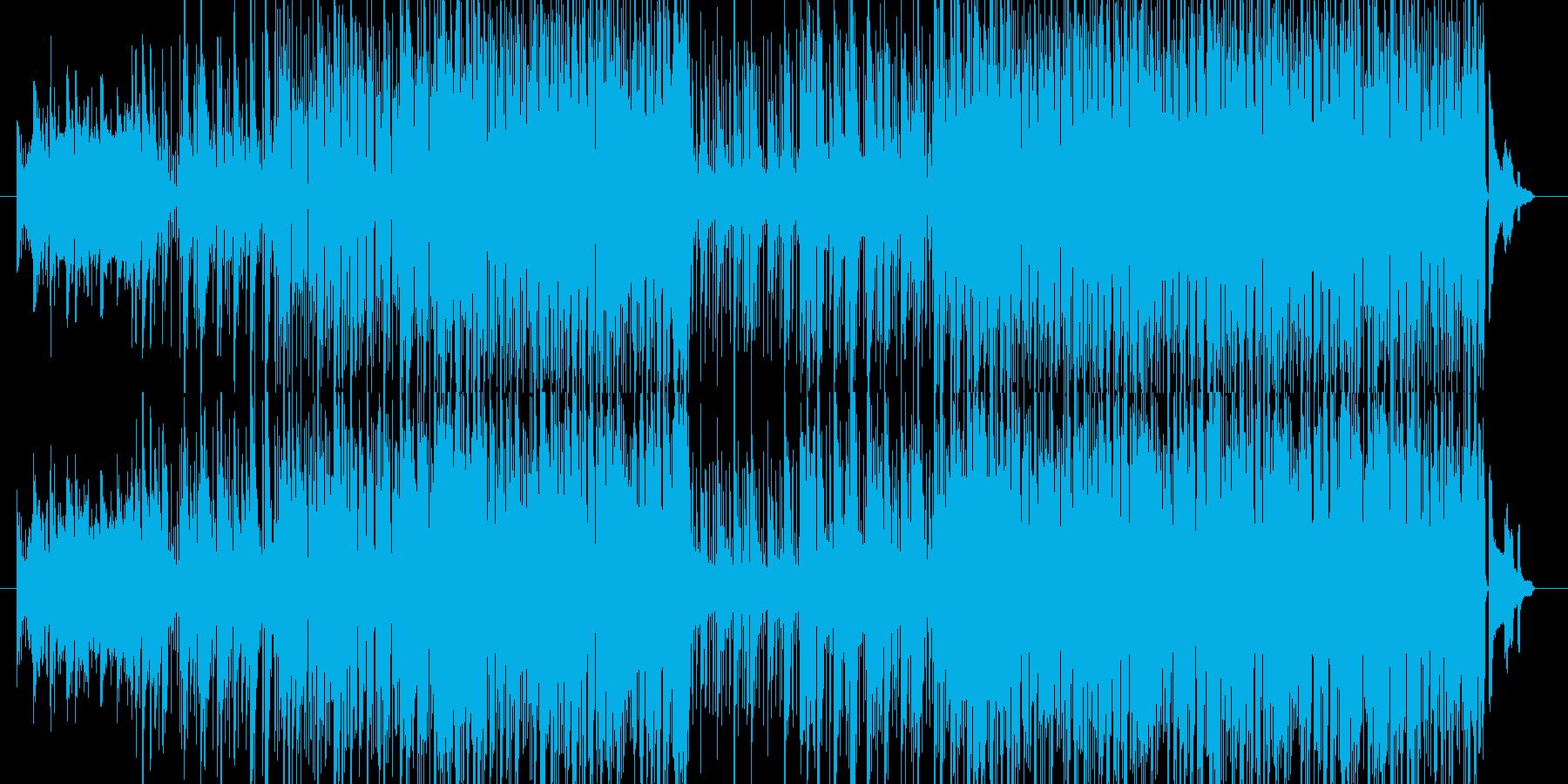 くつろぎの空間に向いた楽曲をテーマに、…の再生済みの波形