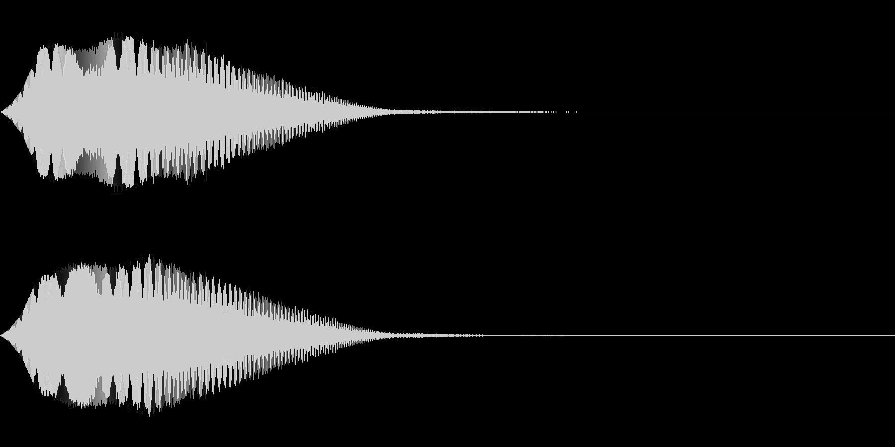 TVFX テレビ向けヒューン音 1の未再生の波形