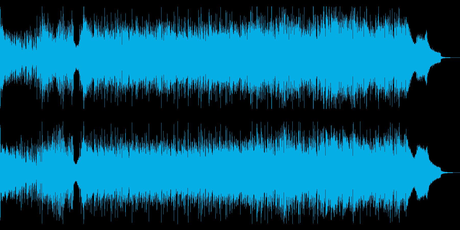 パーカッションがドラマチックなポップスの再生済みの波形