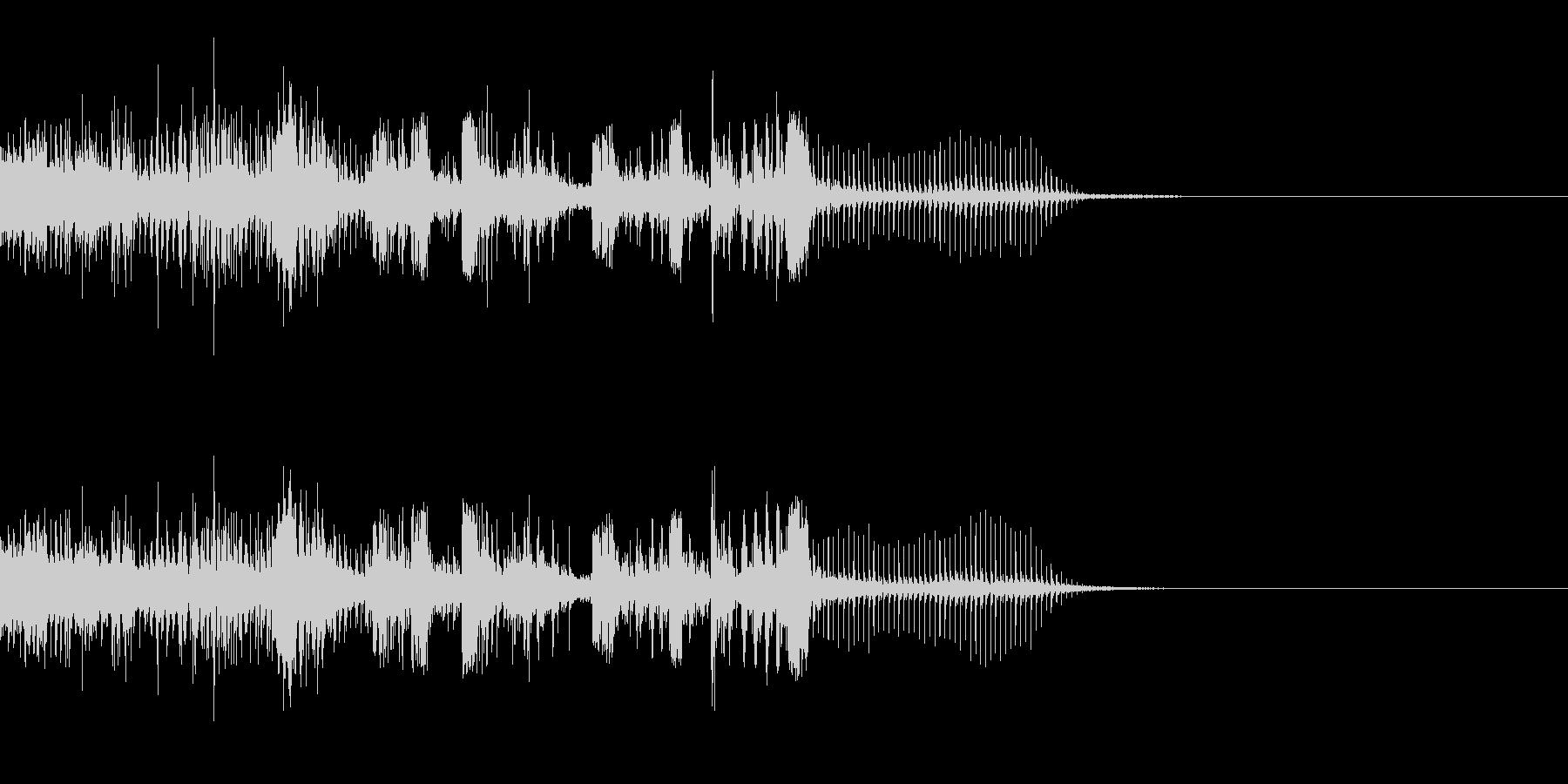 スパーク音-26の未再生の波形