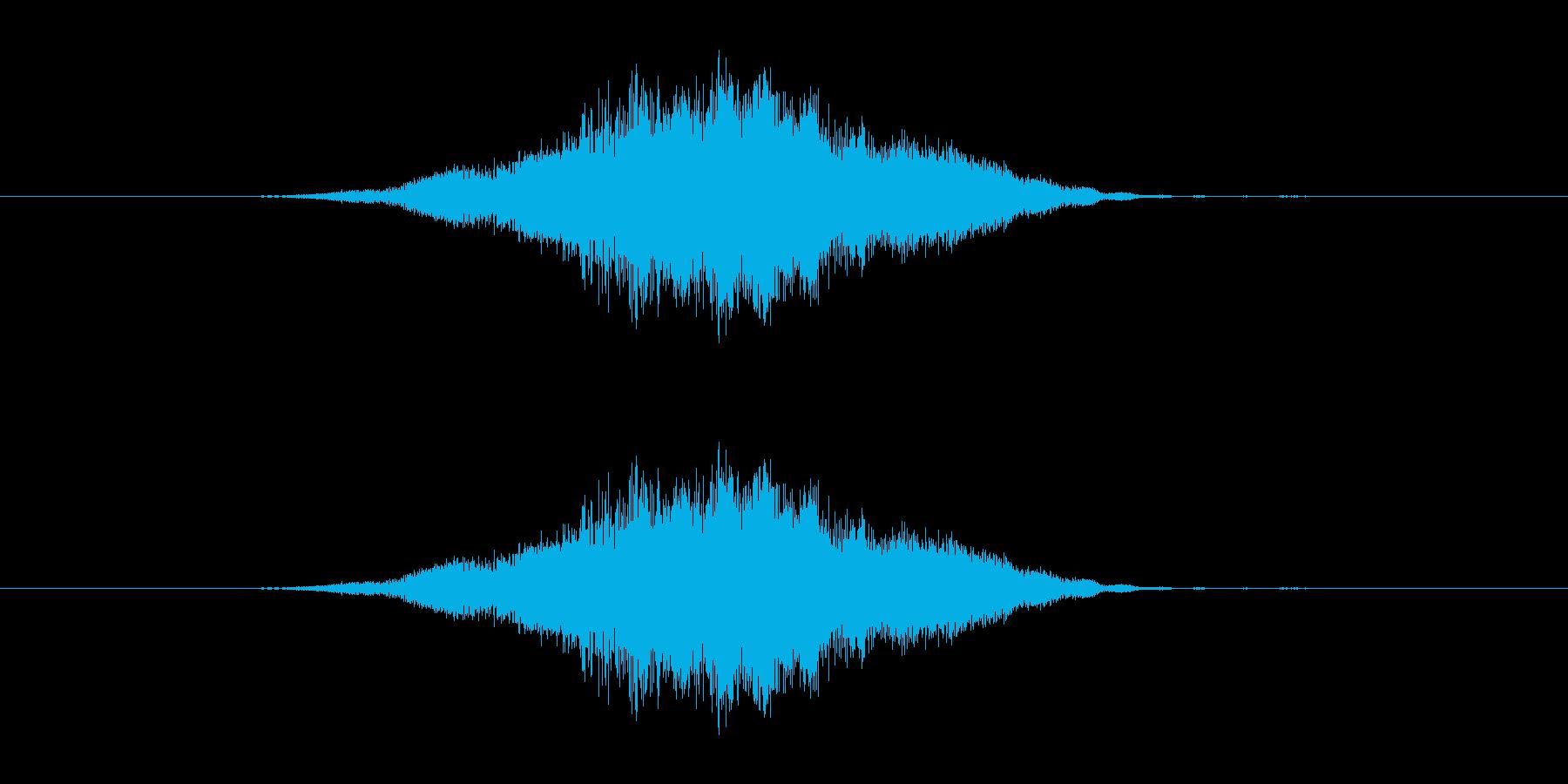 特撮 スイープ05を確認の再生済みの波形