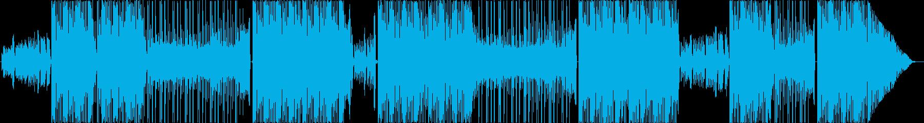 K-pop 男性アーティストタイプビートの再生済みの波形