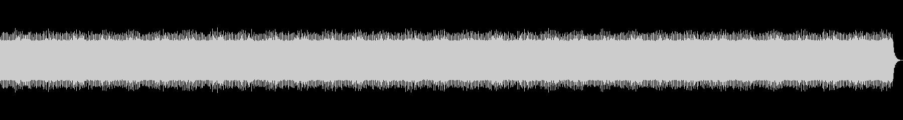 4つ打ちニュースBGMの未再生の波形