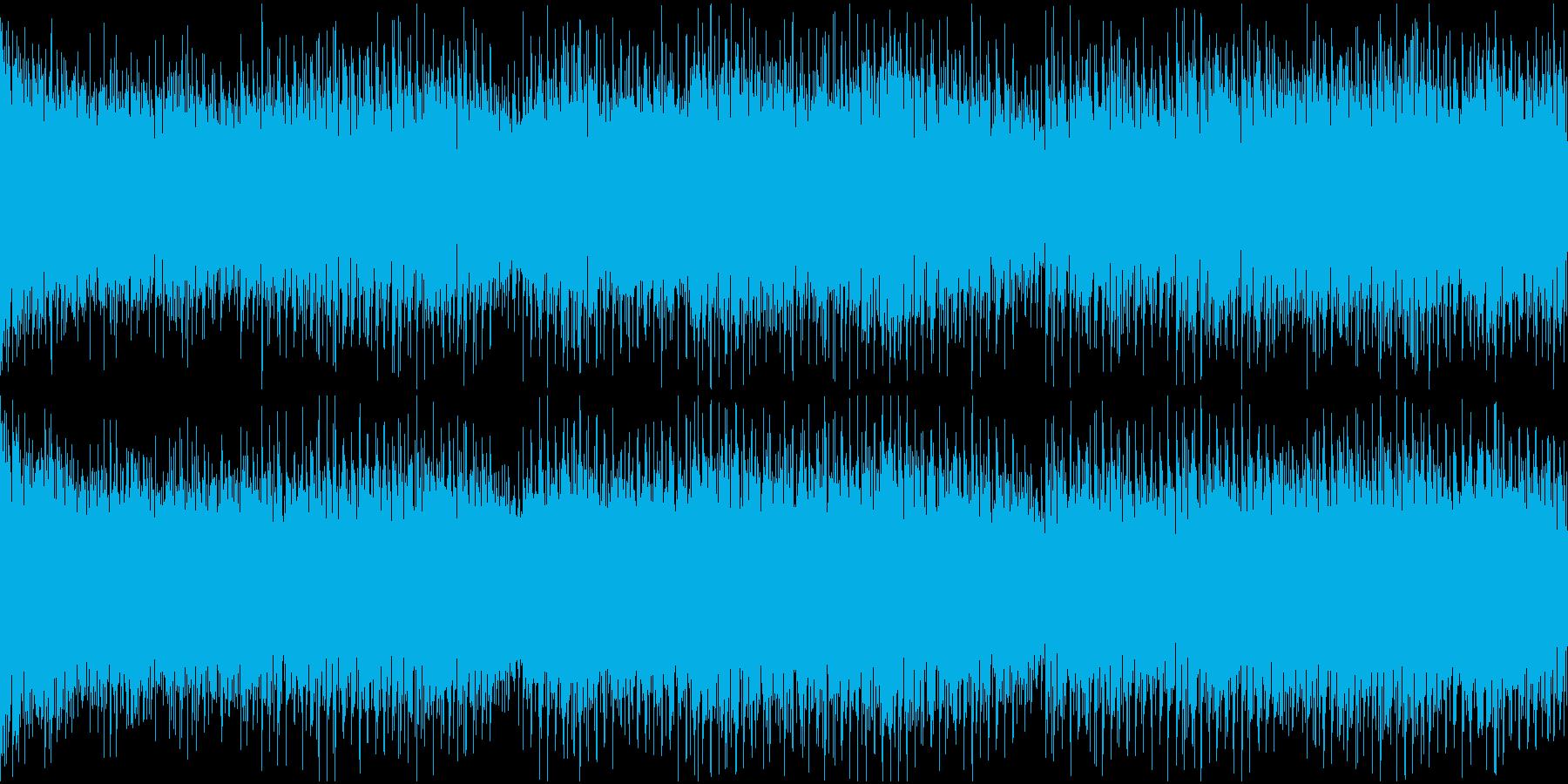 無限ループ仕様・ニュース向け汎用BGMの再生済みの波形