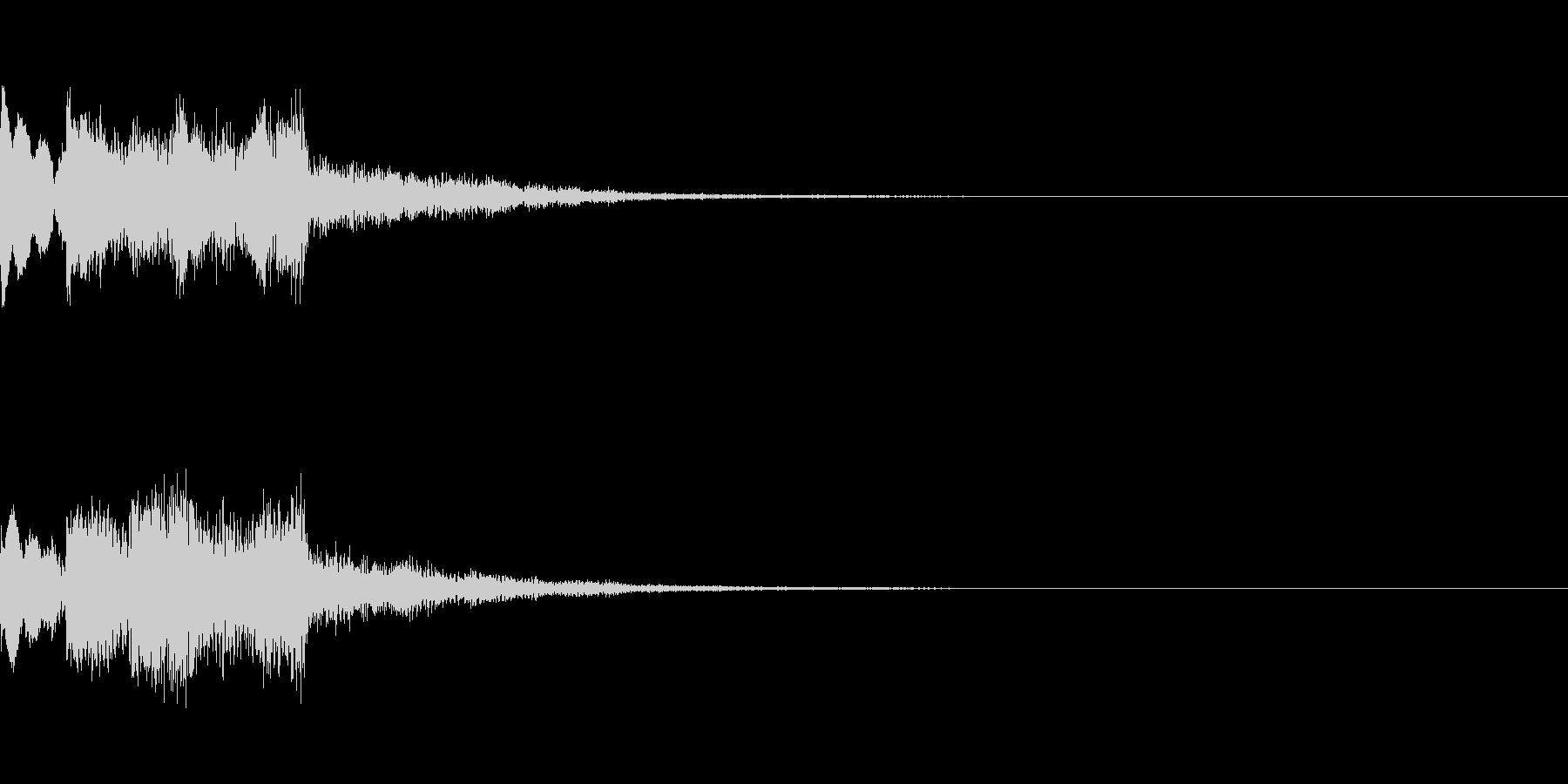 システム起動音_その12の未再生の波形