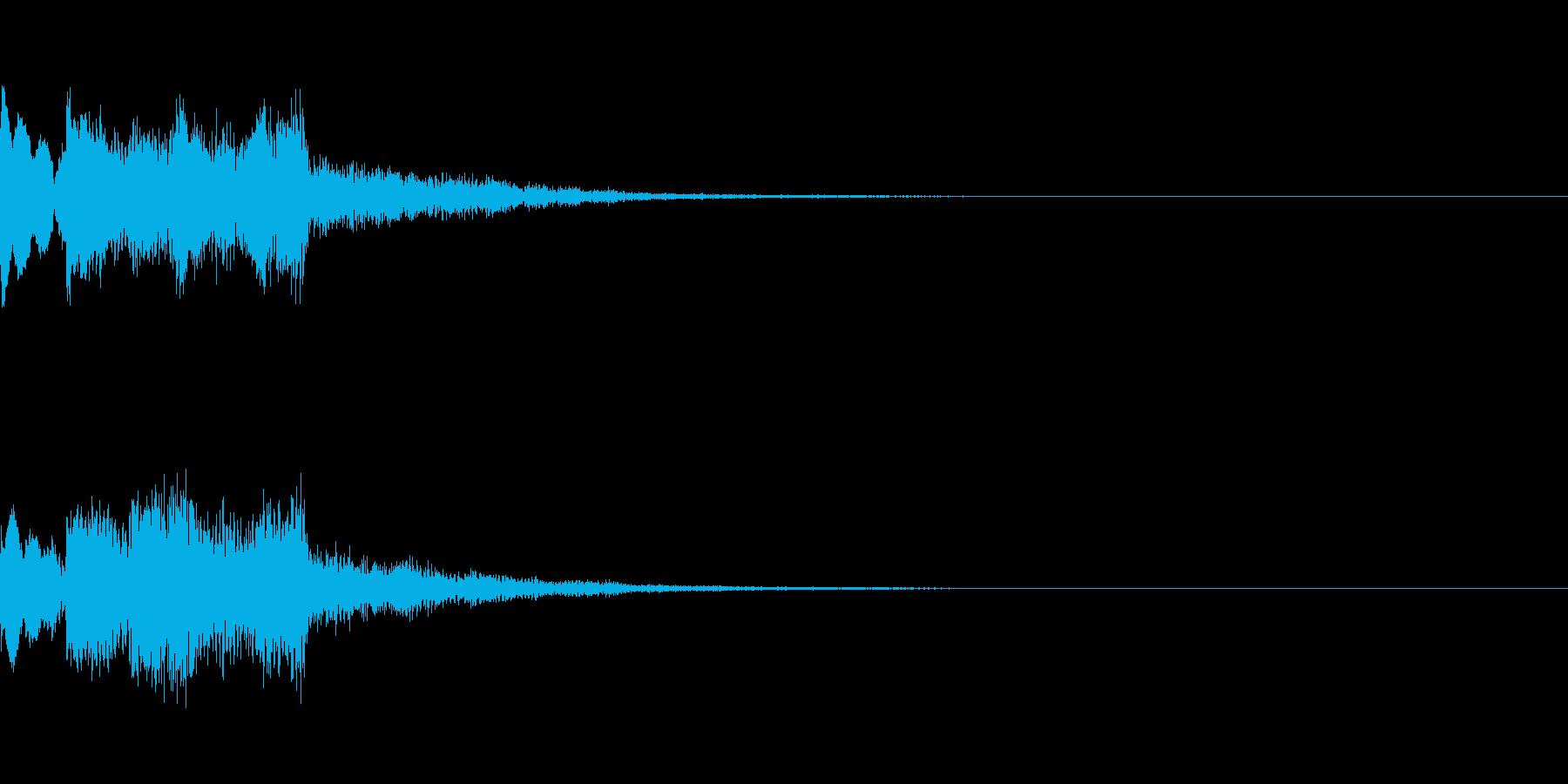 システム起動音_その12の再生済みの波形