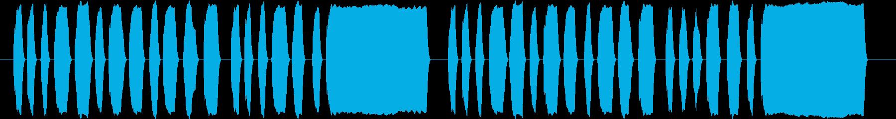 素材 リコーダー 楽しい ノリノリの再生済みの波形