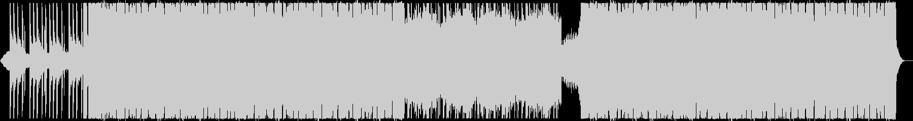 シンプルでダークでカッコいいEDMの未再生の波形