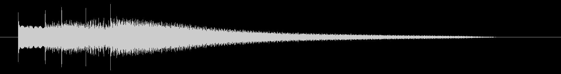 シャラララン 変身 キラーン 魔法の未再生の波形