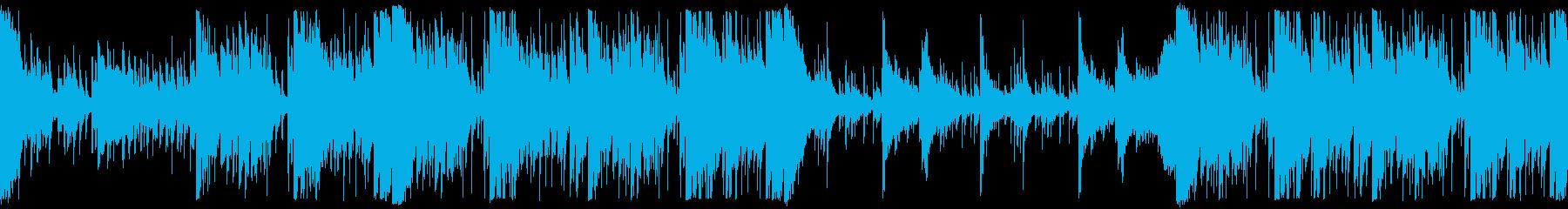 民族音楽ノリの壮大なオーケストラビートの再生済みの波形
