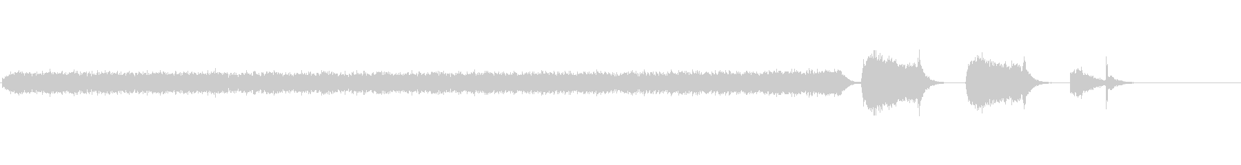 無機質に繰り返すインパクトのある現代音楽の未再生の波形