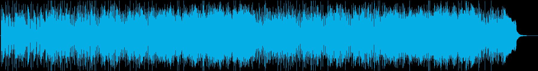 アップテンポであやしげなサーフロックの再生済みの波形