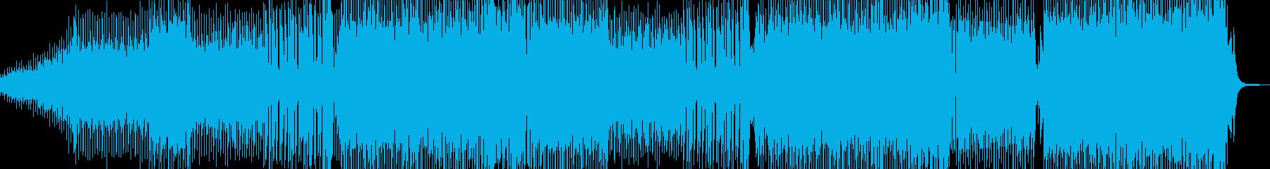 シュワッとしたシンセが爽快なEDM Aの再生済みの波形