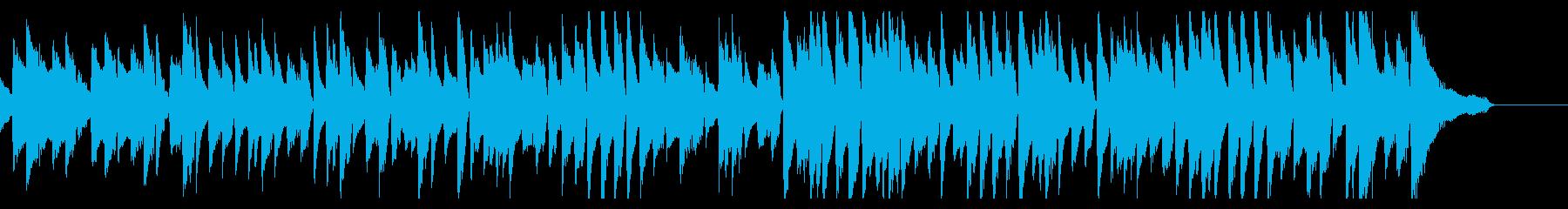 フランス映画をイメージしたピアノソロ楽曲の再生済みの波形