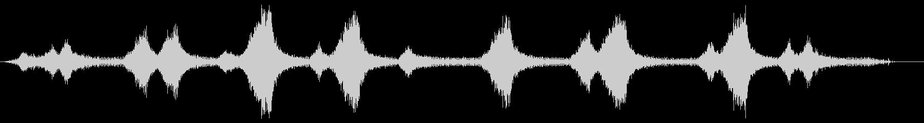 ストリングトリマー-作動中(ストリ...の未再生の波形