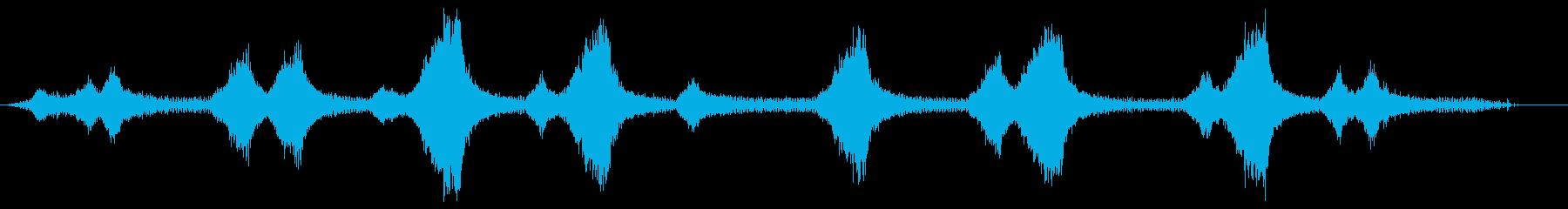 ストリングトリマー-作動中(ストリ...の再生済みの波形