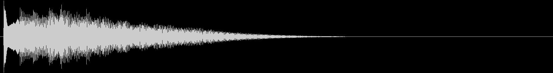 フレーズ系05 文字、テロップ表示(中)の未再生の波形