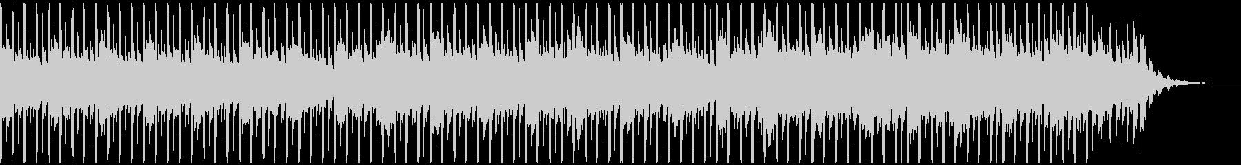 楽観的(50秒)の未再生の波形