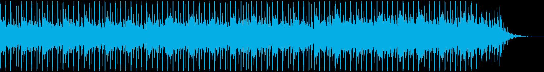 楽観的(50秒)の再生済みの波形