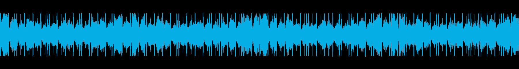 おしゃれ Lo-Fi R&B ループの再生済みの波形