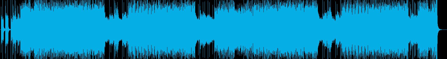 「HR/HM」「DEATH」BGM147の再生済みの波形