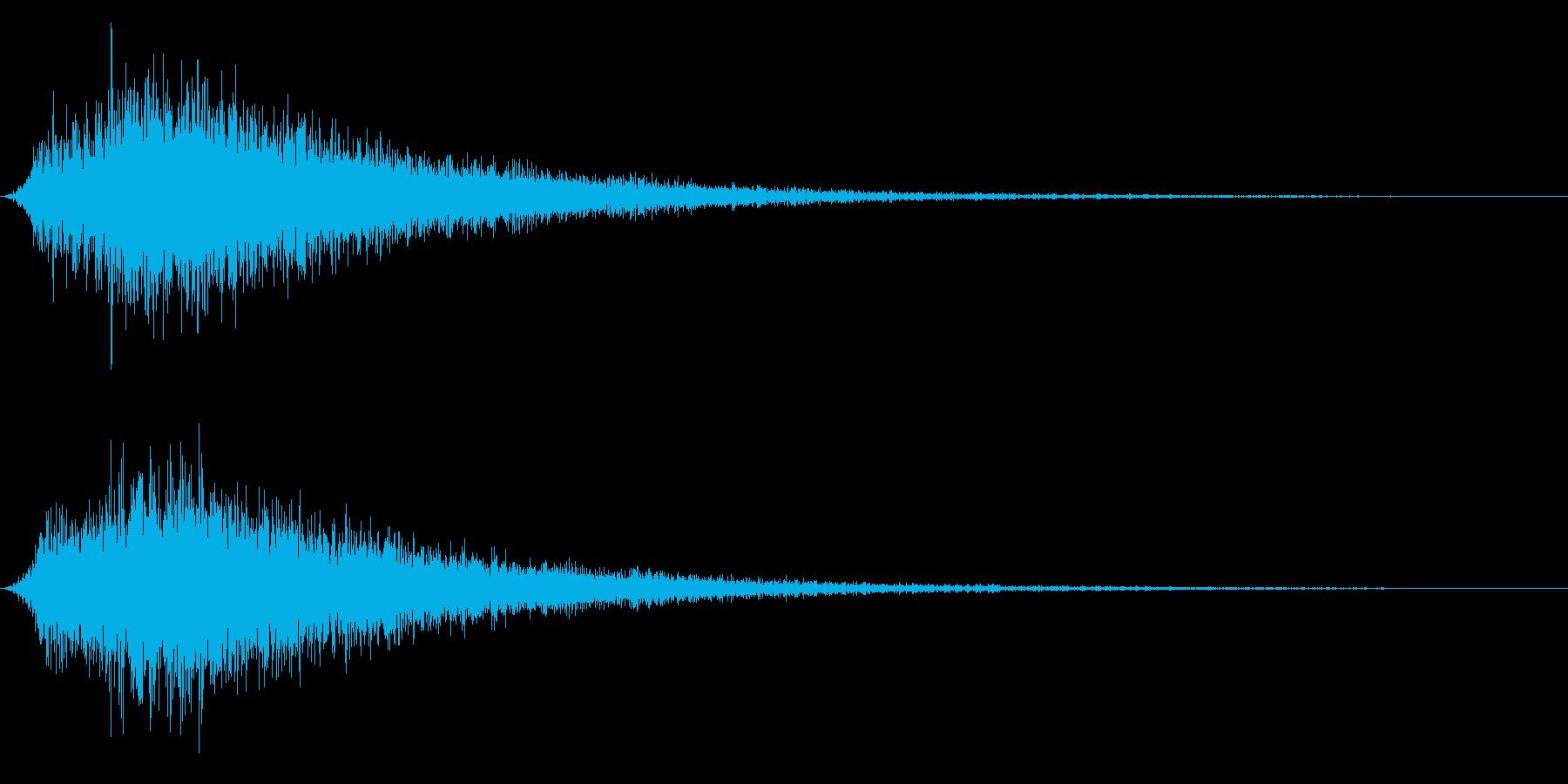シューン(出現/風/戦闘開始)の再生済みの波形